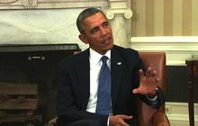 """Obama: Russia """"on the wrong side of history"""" in Ukraine"""
