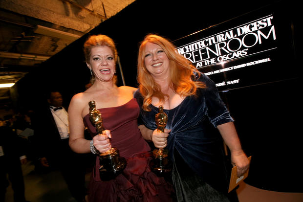 Oscars 2014 backstage