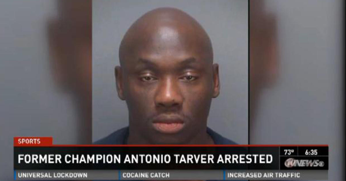 Former boxing champion Antonio Tarver arrested in Florida ...