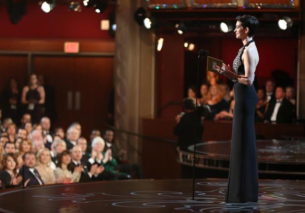 Oscars 2014 backstage