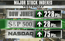 Stocks rebound with hopes of Ukraine resolution