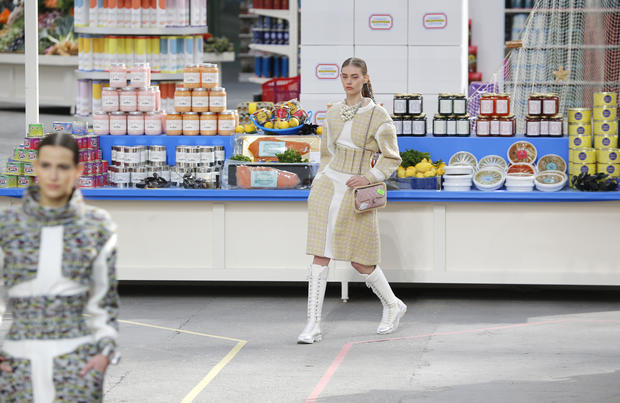 Supermarket couture