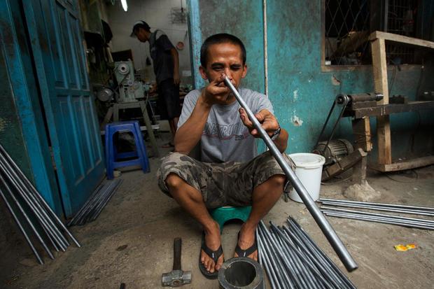 Indonesia's air gun village