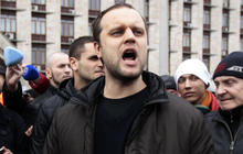 Ukraine region's pro-Russian movement leader arrested