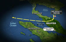 Clues in Malaysia Airlines jet search point to deliberate act