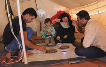 Syria crisis enters 4th year: Routine life in biggest Syrian refugee camp in Jordan