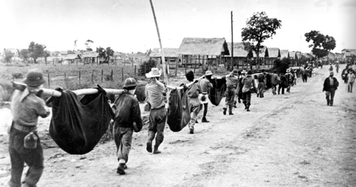 overview of the bataan death march Bataan death march: april 1942 the surrendered filipinos and americans soon were rounded up by the japanese and forced to march some 65 miles from mariveles, on the southern end of the bataan peninsula, to san fernando.
