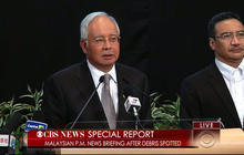 Special Report: Malaysian P.M. says new data shows missing plane plunged into southern Indian Ocean