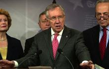 Harry Reid: Democrats focused on economy, GOP focused on Obamacare