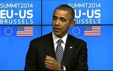 "Obama: No ""immediate plans"" to bring Ukraine, Georgia into NATO"
