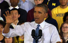 """Obama: Republican budget will """"shrink opportunity for your generation"""""""