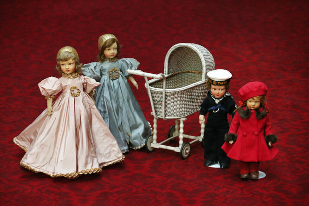 The queen's toys