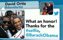 Selfie stunt: David Ortiz photo with Obama could be more than memento