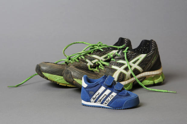 Relics of the Boston marathon