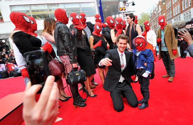 """The Amazing Spider-Man 2"" premiere"
