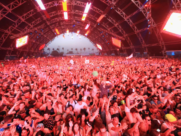 Scenes from Coachella 2014