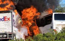 FedEx driver's last hours before deadly Calif. crash scrutinized
