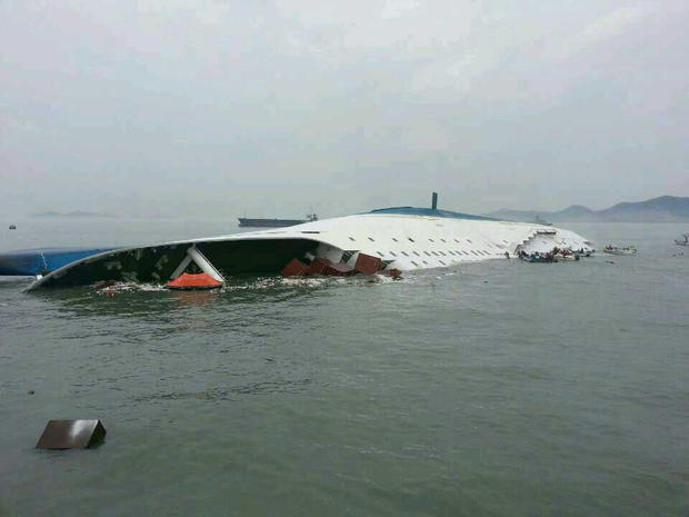 Deadly ferry accident off South Korea