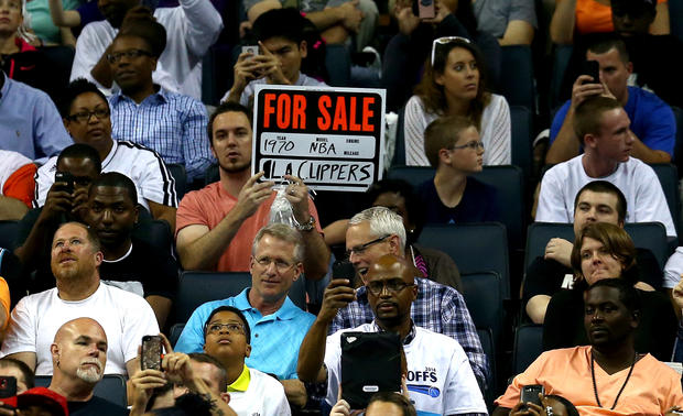 NBA players and sponsors protest Sterling