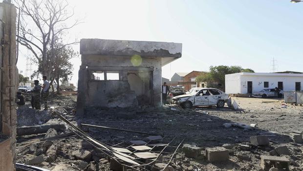 Libya Attack Images Libya Militants Attack