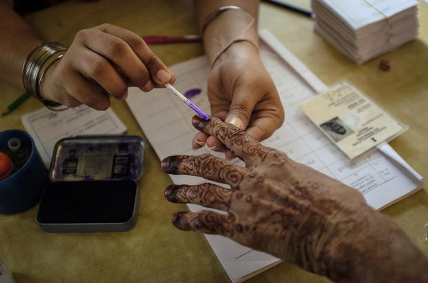 World's largest democracy votes