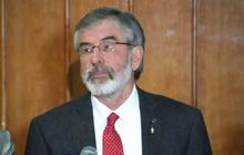 Sinn Fein president Gerry Adams insists he was never an IRA member