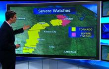 More turbulent weather expected for nation's midsection