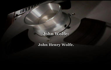 Audio: John Wolfe's interview with detectives