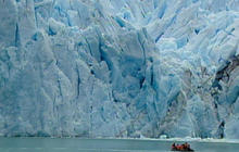 Global warming causes massive changes in Antarctica