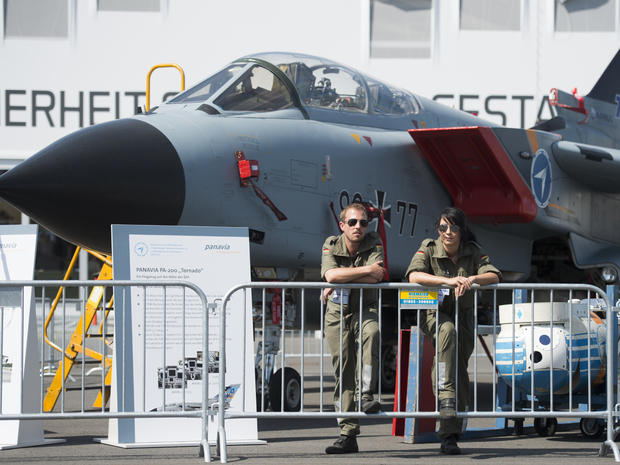 Flying high at the Berlin Air Show