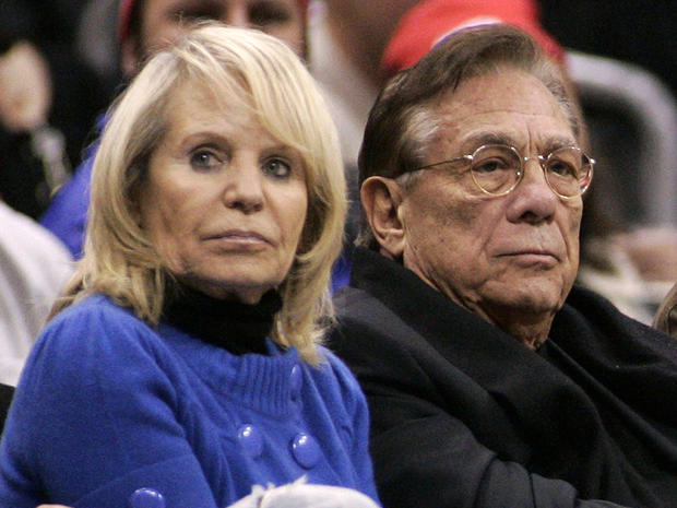 Los Angeles Clippers owner Donald Sterling and his wife Shelly attend an NBA basketball game between the Toronto Raptors and the Los Angeles Clippers at the Staples Center in Los Angeles in this Dec. 22, 2008, file photo.