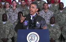 "Obama: Troops helping secure ""responsible end"" to Afghanistan war"