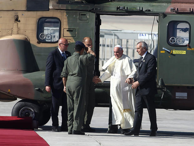Pope Francis visits the Holy Land