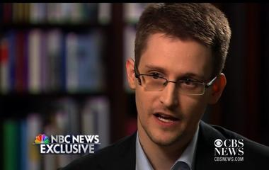 "Edward Snowden says he was ""trained as a spy"""