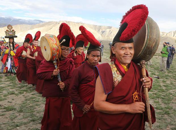 Chasing demons away in Nepal