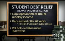 Pres. Obama announces student debt relief
