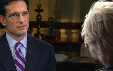 Eric Cantor: The 60 Minutes Interview