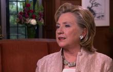 "Hillary Clinton on politicians ""treading water"""
