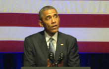 """Obama pledges to fight for LGBT rights: """"We can't stop"""""""