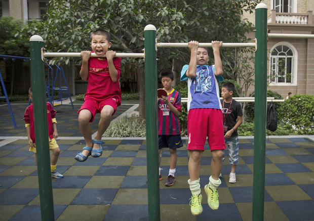 China yearns for future soccer glory