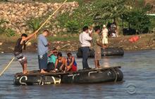 Immigrants flee danger, chasing rumors of amnesty