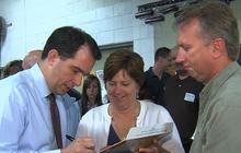 Wisconsin Gov. Scott Walker responds to illegal fundraising allegations
