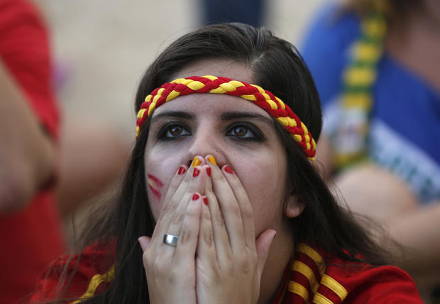 For World Cup fans, an emotional rollercoaster