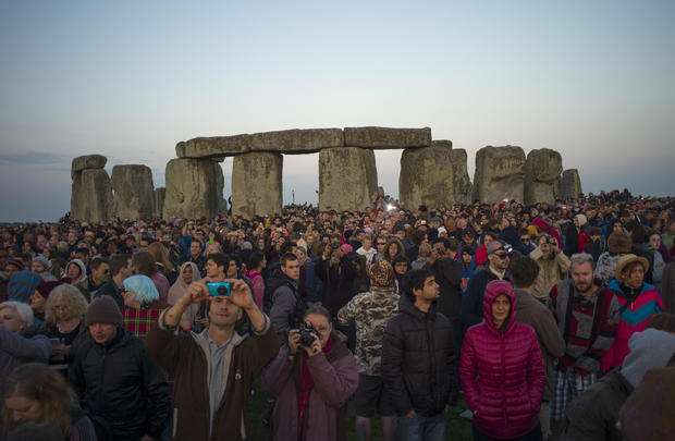 Solstice celebrated around the world