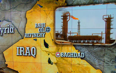 Iraqi forces reportedly surrender oil refinery control