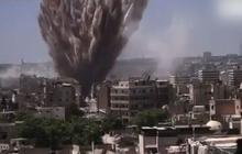 Syrian official pleads ignorance of deadly barrel bombs