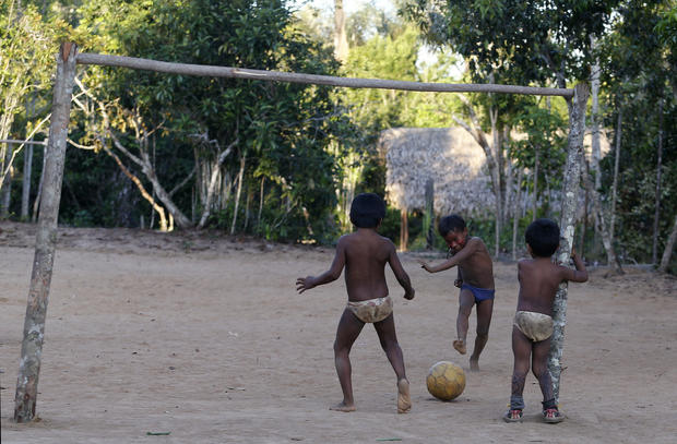 World Cup spikes Amazon tribal tourism