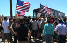 Immigrant children bussed to California amidst protests
