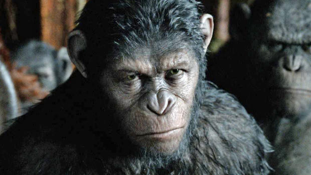 Caesar Monkey Drawing Caesar in The New Sequel
