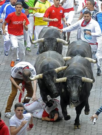 Bulls vs. Men in Spain